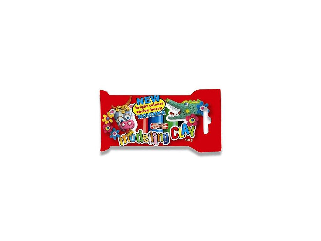 Plastelína 100 g / 5 barev