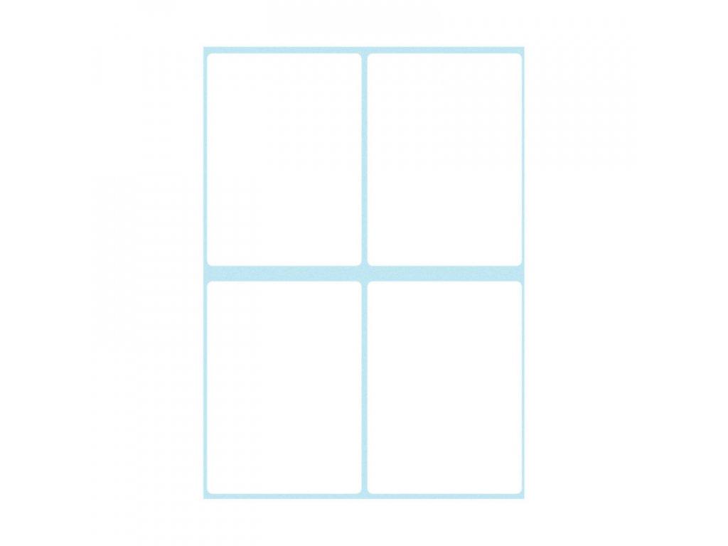 Etikety kancelářské bílé 40 x 55 mm
