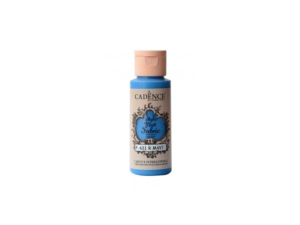 style matt fabric royal blue kralovsky modra