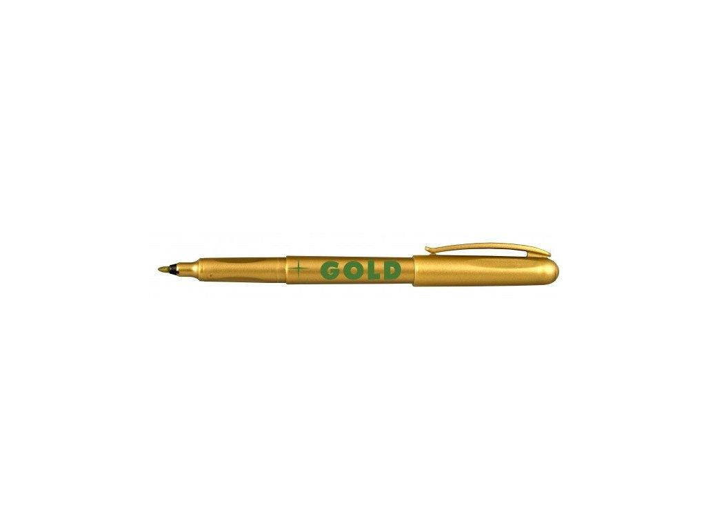 Popisovač 2670 zlatý, stříbrný