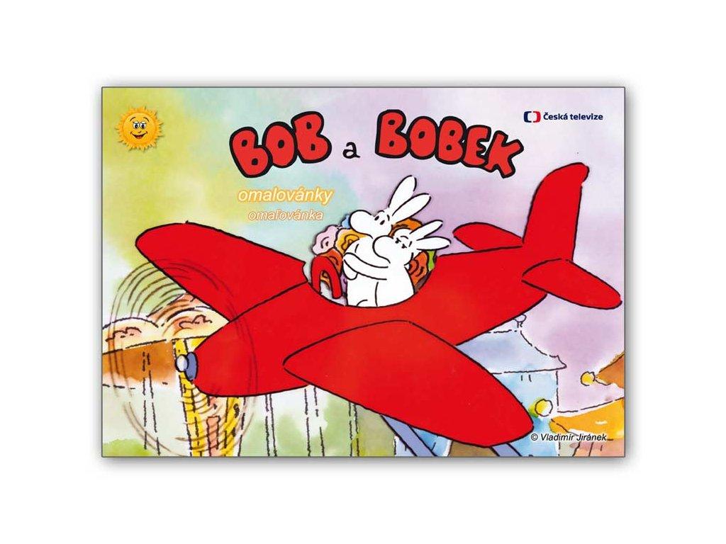 Omalovánky A4 Bob a Bobek