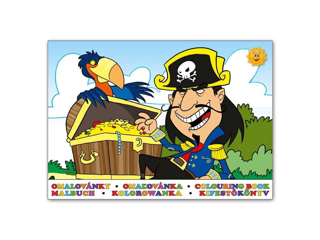 Omalovánky Piráti 2