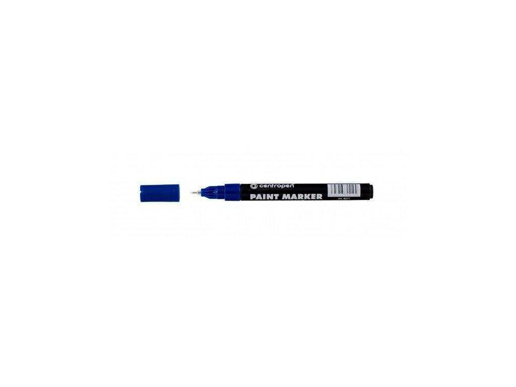 Popisovač 9211 lakový modrý
