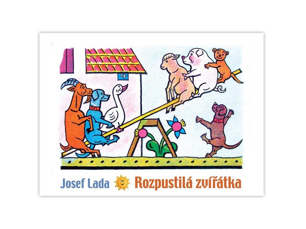Omalovánky Lada - Rozpustilá zvířátka