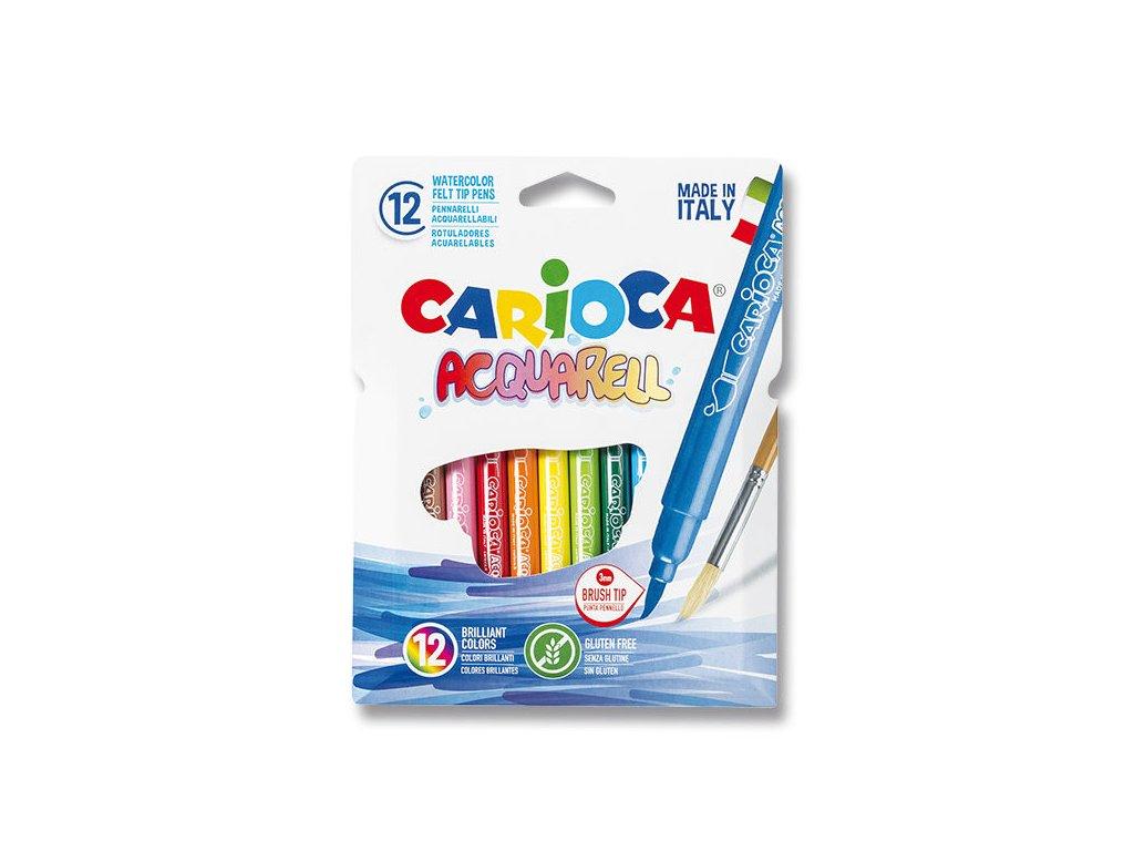 Popisovače Carioca Acquarelle 12ks