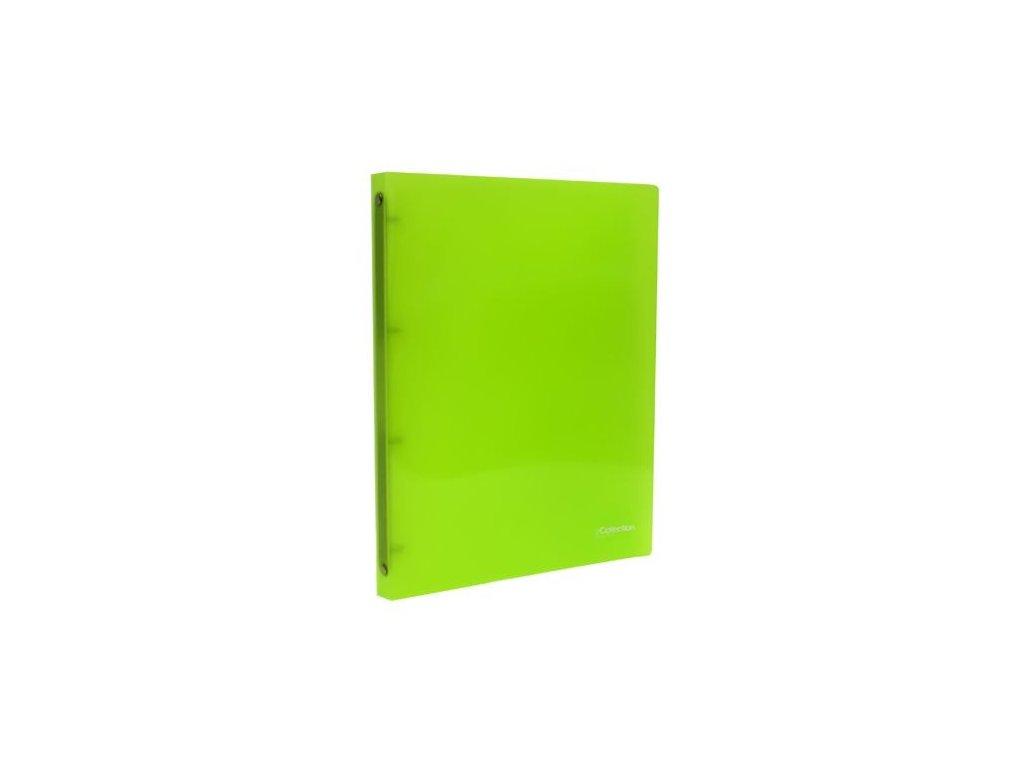Pořadač A4 4 kr eCollection zelená