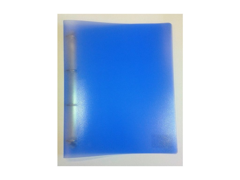 Pořadač PP A4 D20 4kr. Opaline modrá