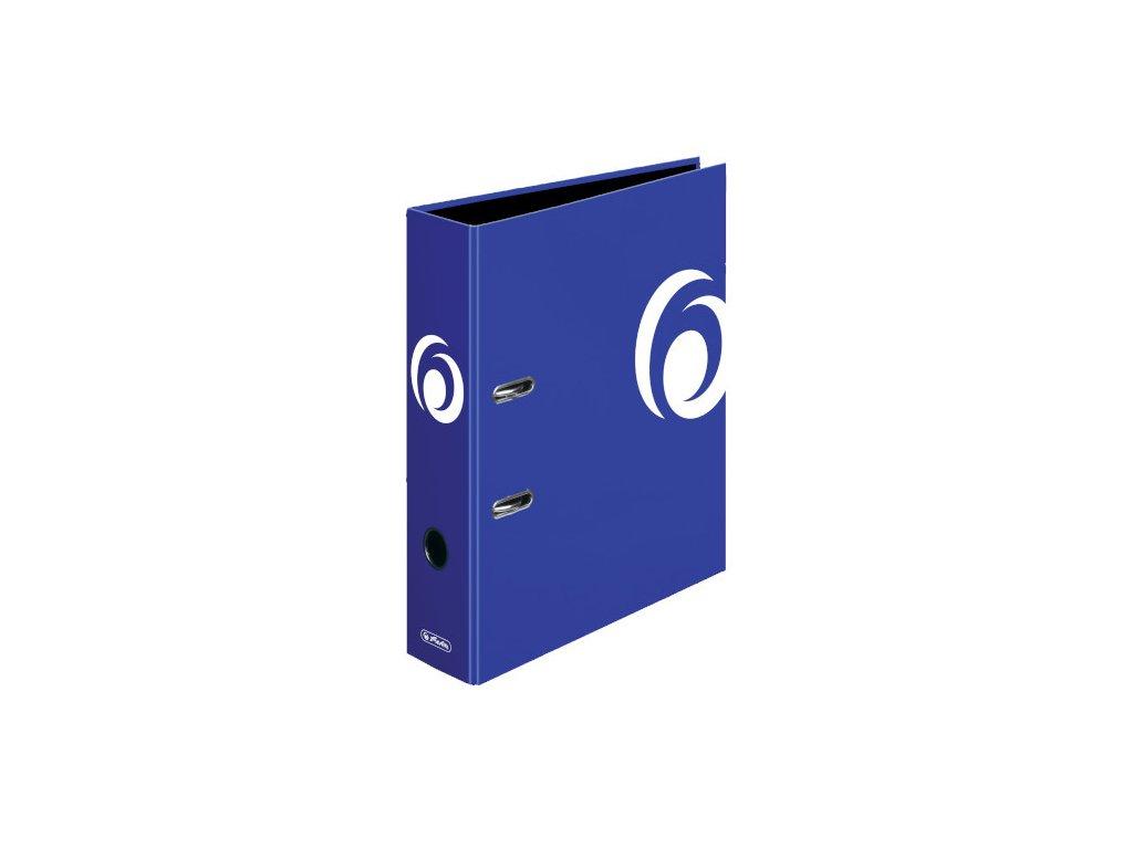 Pořadač A4/8 lamino-int.modrá