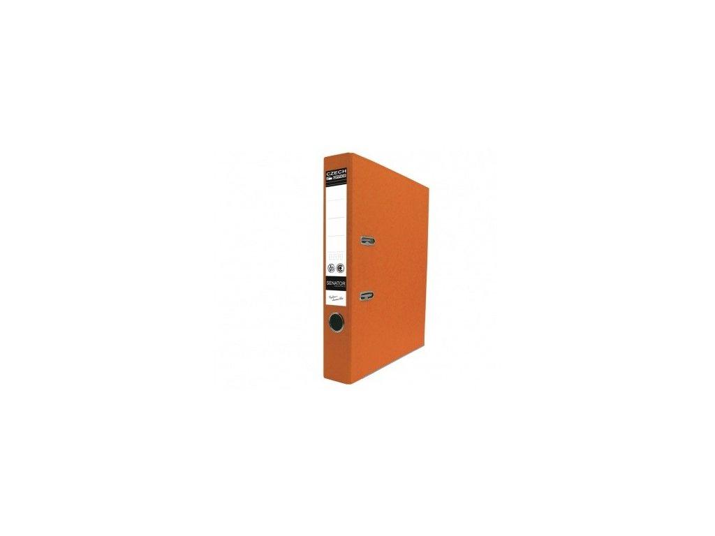 Pořadač pákový A4 Senator 5 cm oranžový