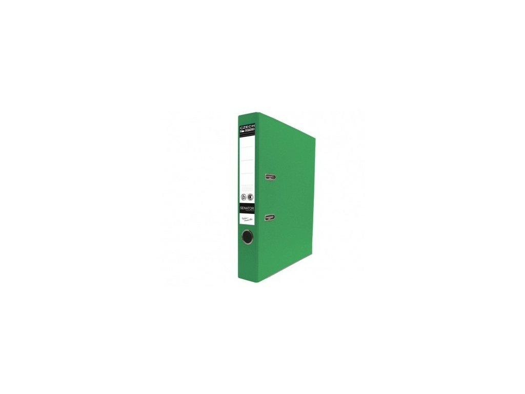 Pořadač pákový A4 Senator 5 cm zelený