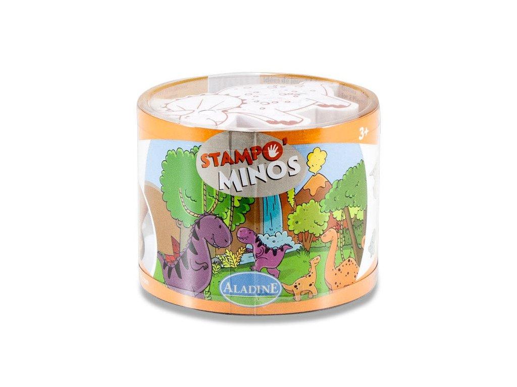 Razítka Aladine StampoMinos Dinosauři
