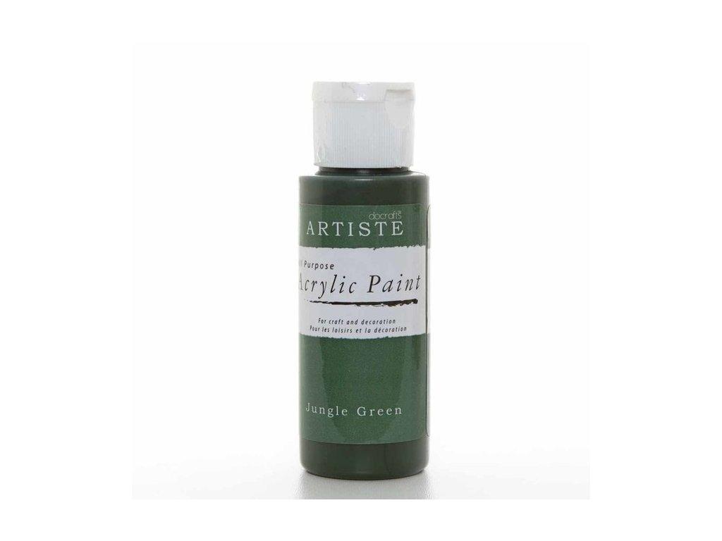 Barva acrylová DO tm.zelená