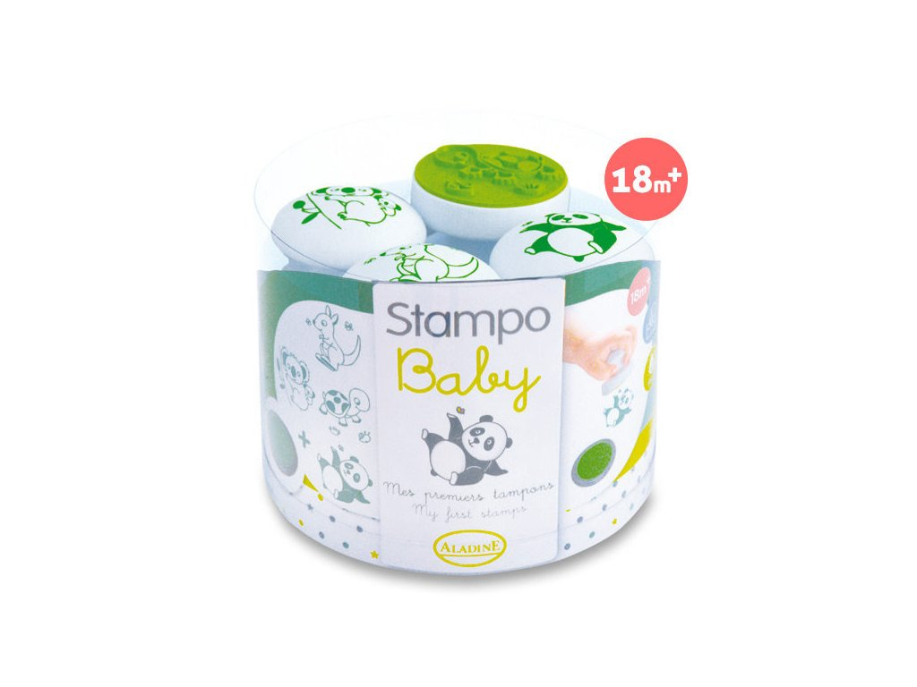 Razítka ALADINE StampoBaby Zvířátka z daleka
