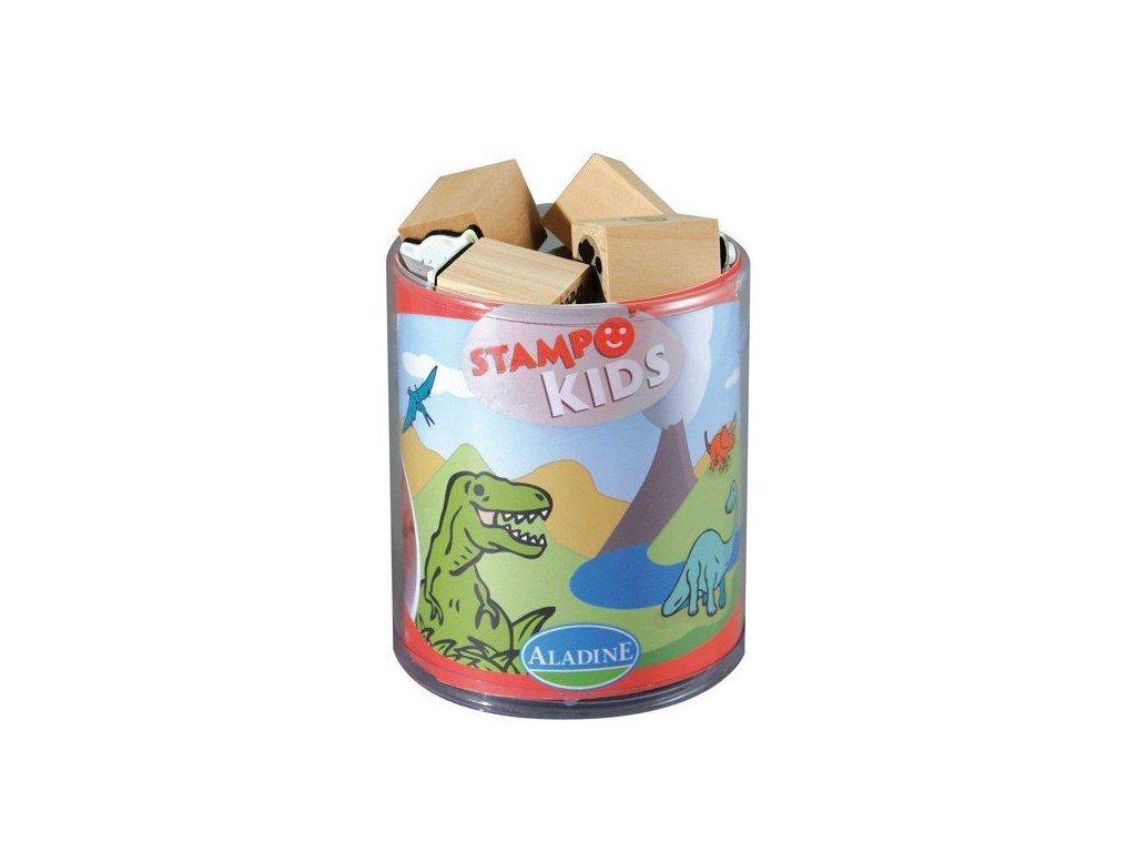 Razítka Aladine StampoKids Dinosauři