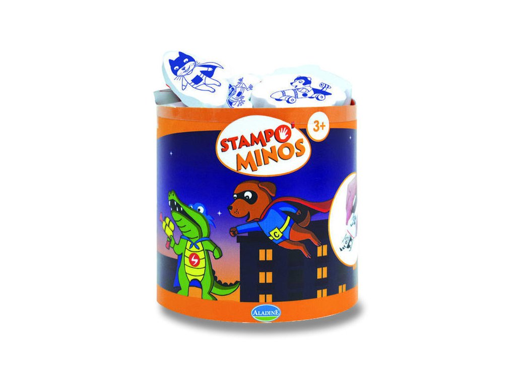 Razítka Aladine StampoMinos Super hrdinové