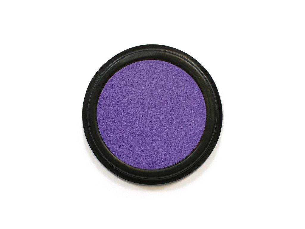 Razítkovací poduška fialová TEXTIL