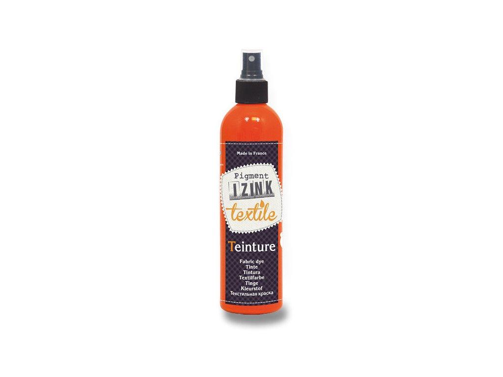 Barva textilní Aladine IZINK oranžová 180 ml