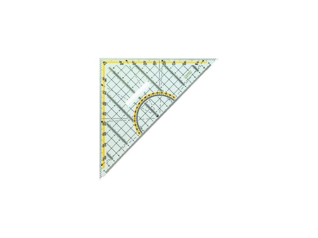 Trojúhelník s držadlem 45/177
