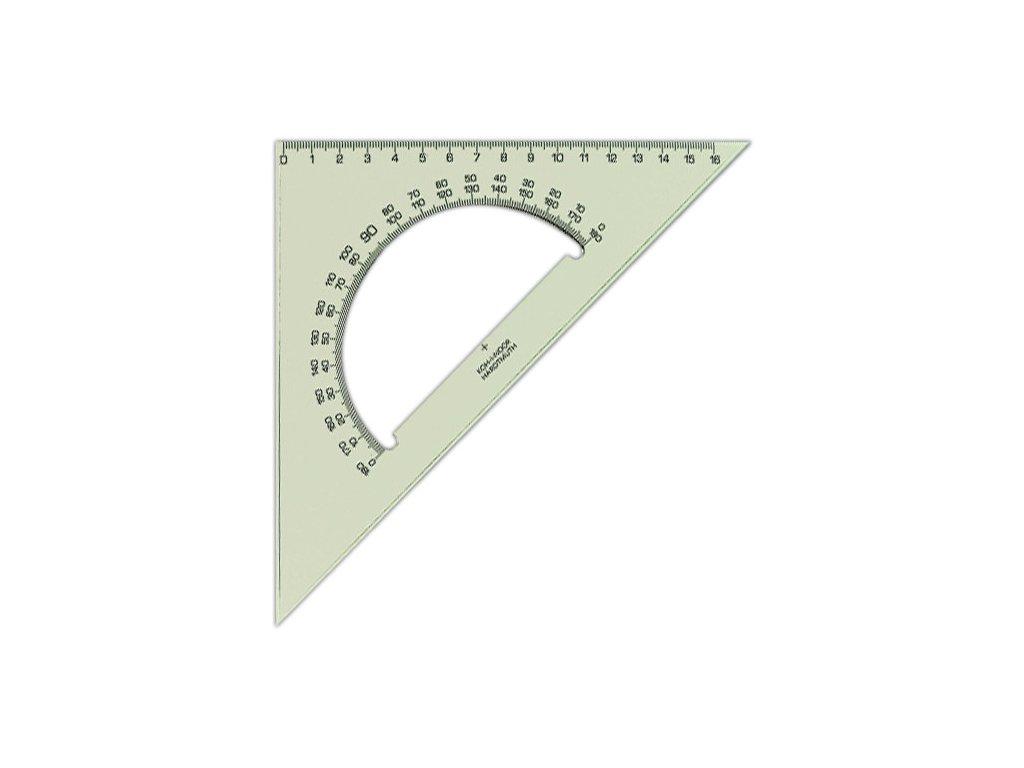 Trojúhelník s úhloměrem