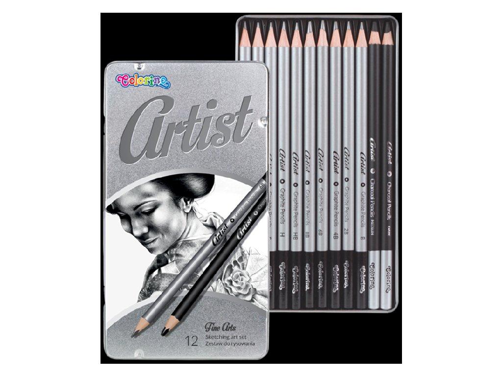 5907690880118 tužky různe tvrdosti colorino