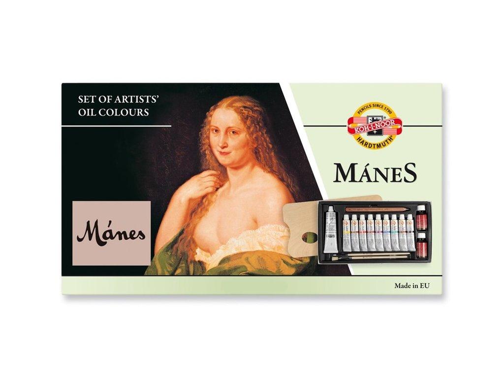 Barvy olejové Mánes