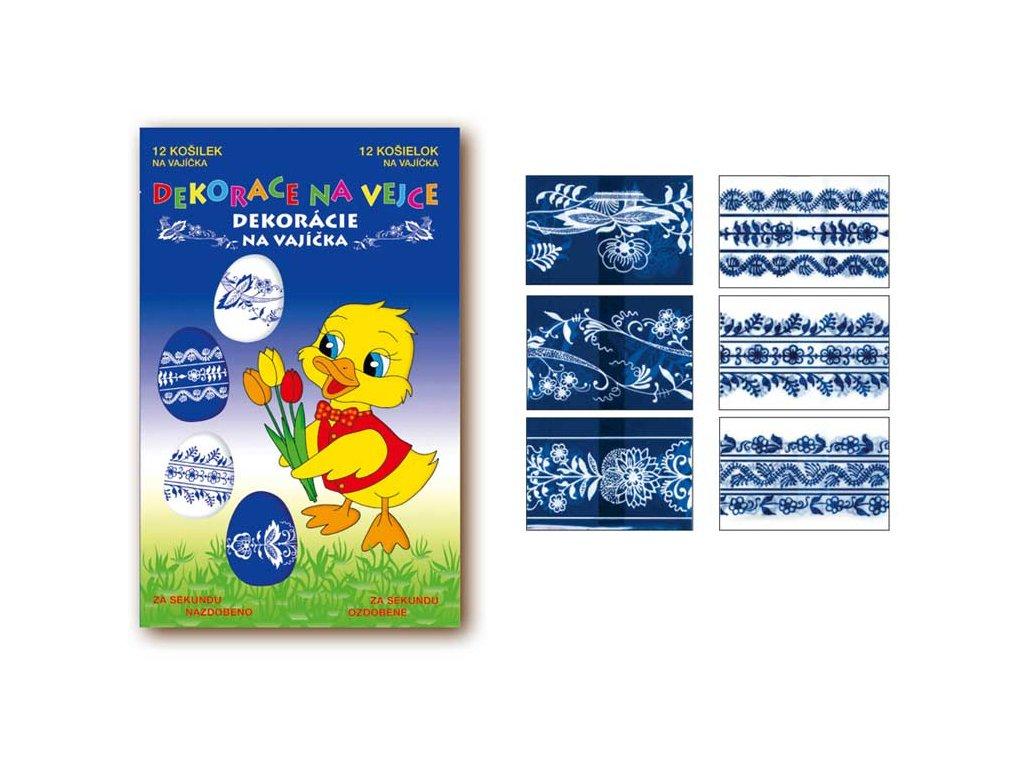 Velikonoční obtisk na vajíčka 731 košilky