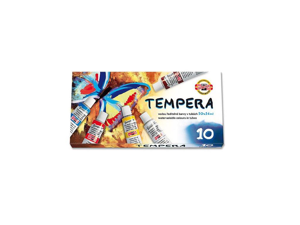 Barvy temperové 10 ks x 16 ml