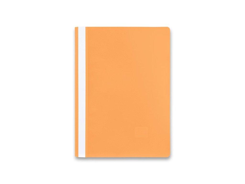 Rychlovazač plast oranžová A4