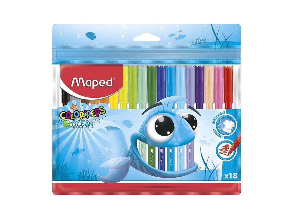 detske fixy maped color peps 18
