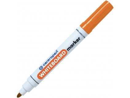 centropen 8559 whiteboard marker oranzovy