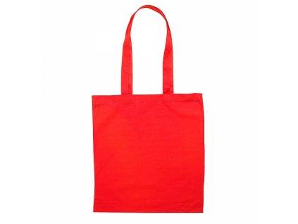 Taška bavlněná, 140g/m2, 38x42cm, červená