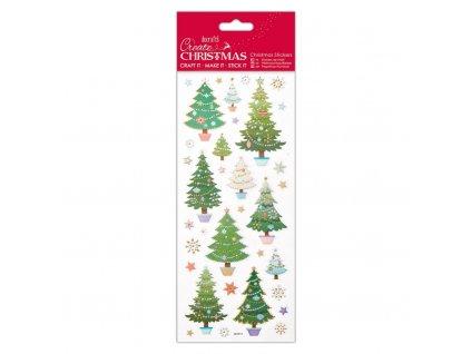 Samolepky vánoční Trees