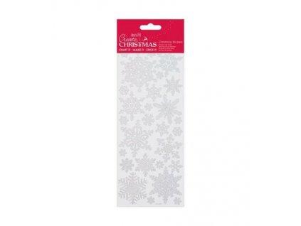 Samolepky vánoční Snowflakes