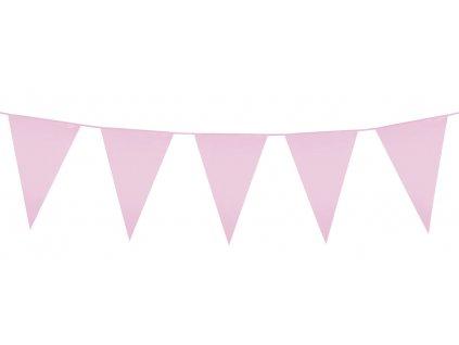 Girlanda PE mini růžová