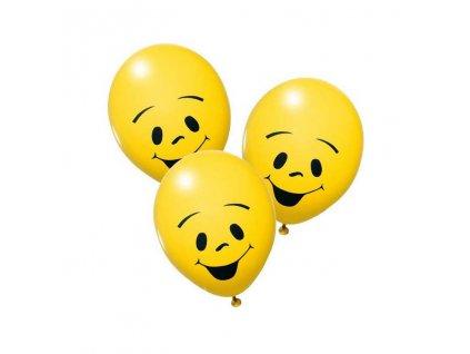 Balonky 10ks Žluté sluníčko