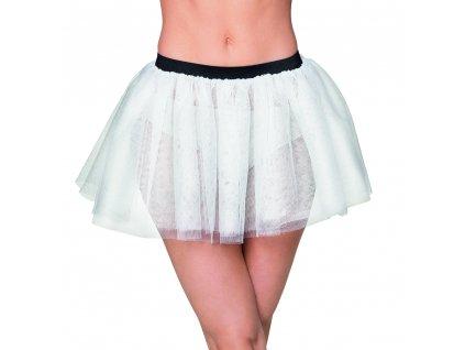 01709 1 bílá tutu sukně