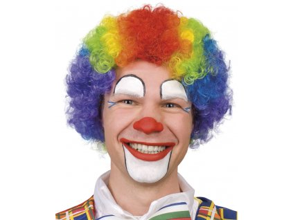 Barevná paruka klaun