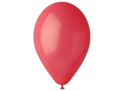 červený pastelový balonek