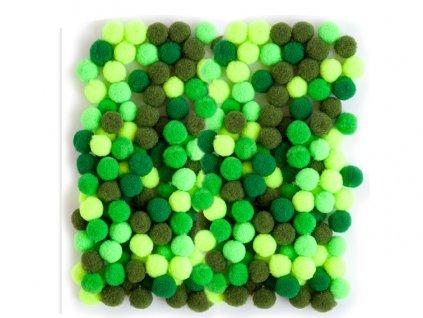 zelene kulicky