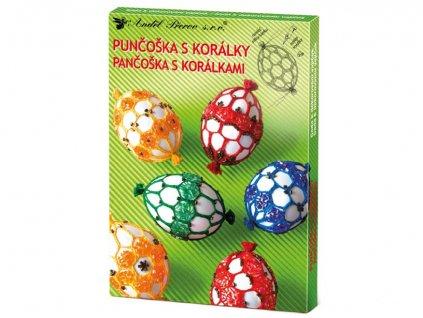 Velikonoční sada punčoška s korálky