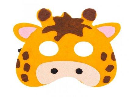 maska zirafa