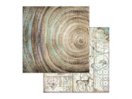 Oboustranný papír na scrapbook COSMOS Vesmírné shluky