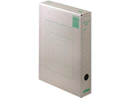 Box archivní 330 x 260 x 50 mm zelený A4