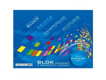 blok barevny a3