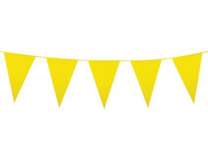 Girlanda PE mini žlutá