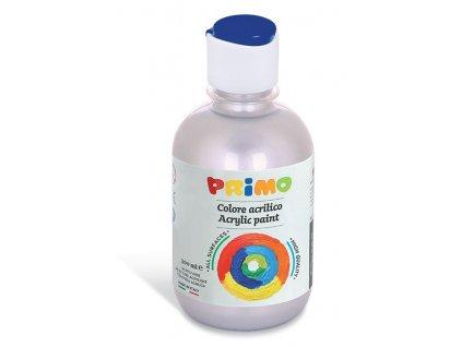 Akrylová barva 300 ml, stříbrná