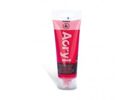 Akrylová barva PRIMO, tuba 75 ml, tm.růžová