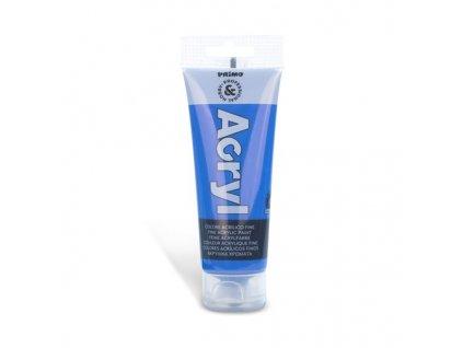 Akrylová barva PRIMO, tuba 75 ml, modrá kobaltová