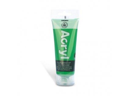 Akrylová barva PRIMO, tuba 75 ml, zelená