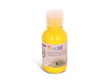 Barva na textil PRIMO, 125 ml, žlutá